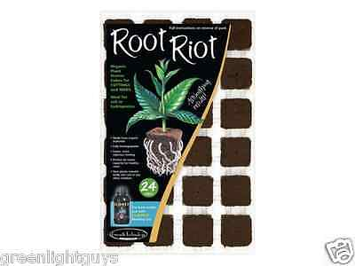£10.99 • Buy Growth Technology Root Riot 24 Propagation Plant Starter Cubes Free Pippet