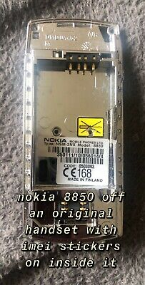 Nokia 8850 8890 Chassis Middle Frame Cover Housing From An Original Phone • 16.50£