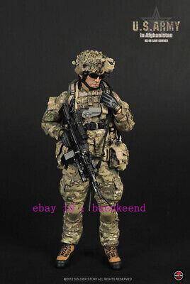 $259.99 • Buy Soldier Story 1/6 Ss068 Us Army M249 Machine Gunner In Afghanistan Action Figure