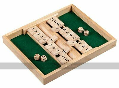 £21.47 • Buy 2 Player Shut The Box - 12 Numbers (UK)