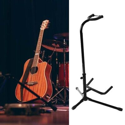 $ CDN15.11 • Buy Telescopic Guitar Stand Acoustic/Electric/Bass Universal Adjustable Tripod Stand