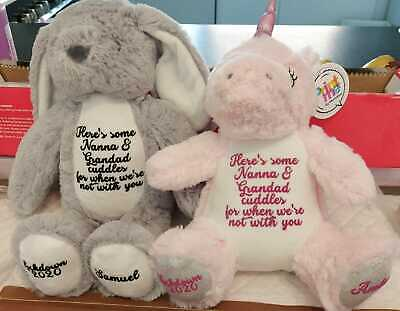 Personalised Teddy, Missing You Gift, Cuddle Gift, Lockdown Gift, Miss You • 10.95£