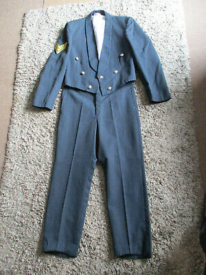 RAF Sgt Mess Dress Jacket And Trousers • 60£