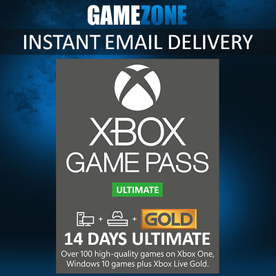 $ CDN4.69 • Buy Xbox Game Pass 14 Days Ultimate Xbox Live Gold Membership For Xbox One 2 Week