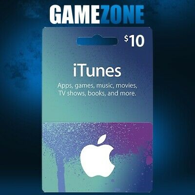 AU18.38 • Buy ITunes Gift Card $10 USD USA Apple ITunes Code 10 Dollars United States Digital