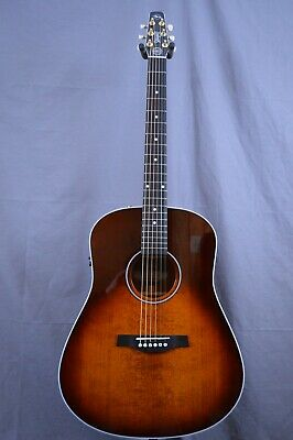 $849 • Buy Seagull Maritime SWS Burnt Umber GT QIT Acoustic Electric New Free Shipping