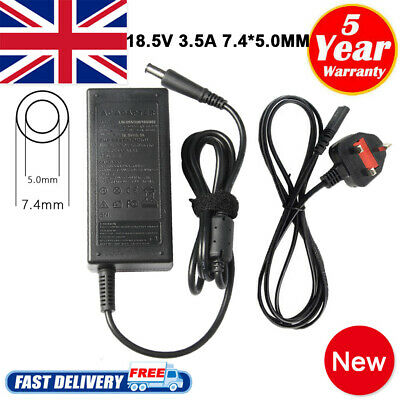 For HP Compaq Presario CQ58 CQ59 CQ61 Laptop Power Supply Adapter Charger • 10.49£