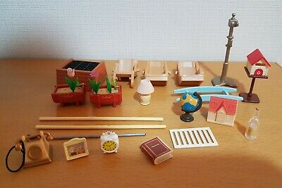 $34.74 • Buy Sylvanian Families Home Garden Parts Accessories Pack Phone Mailbox Globe BBQ