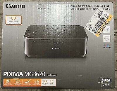 View Details Canon PIXMA MG3620 Home Office Wireless All-In-One Inkjet Printer, INK INCLUDED • 84.98$