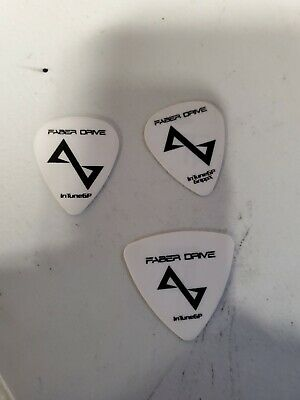$ CDN150 • Buy Faber Drive Guitar Picks, Drum Stick & Autographed Lanyard