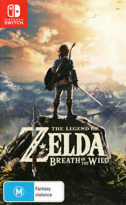 AU87 • Buy The Legend Of Zelda Breath Of The Wild Switch Game NEW