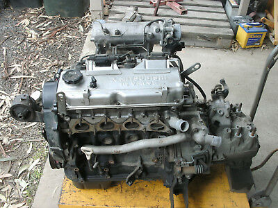 AU250 • Buy Mitsubishi Lancer(CE) 4G93 Long Motor And Gearbox(incl. Starter And Alt.)
