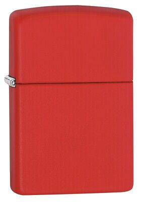 $18.23 • Buy Zippo Classic Red Matte Windproof Pocket Lighter, 233