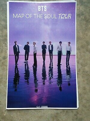 $10 • Buy BTS 11x17 2020 World Tour Concert Promo Poster Tickets Shirt
