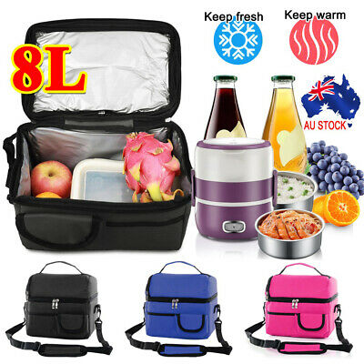 AU14.24 • Buy 8L Portable Cooler Lunch Box Waterproof Insulated Thermal Carry Tote Storage Bag