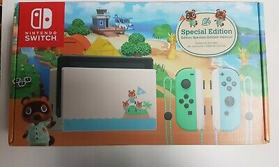 $ CDN1200 • Buy Nintendo Switch Animal Crossing: New Horizon Special Edition