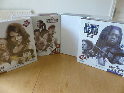 The Walking Dead No Sanctuary Board Game + Expansions + Lori! (Cryptozoic) • 109.99£