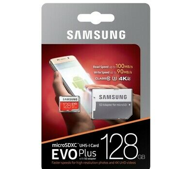 $23.98 • Buy REAL Samsung 128GB Micro SD SDXC Class10 U3 Memory Card For Android Phone/Tablet