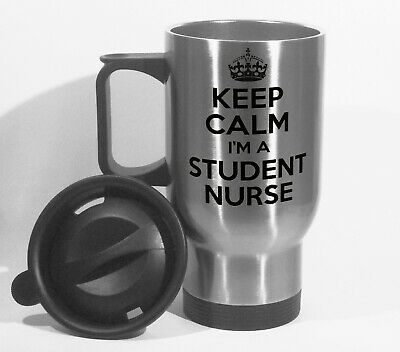 Keep Calm I'm A Student Nurse Travel Mug Can Personalise Healthcare NHS Gift  • 13.99£