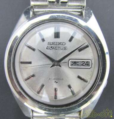 $ CDN462.69 • Buy Seiko 5 Actus 7019-7040 21 Jewels Stainless Steel Automatic Mens Watch