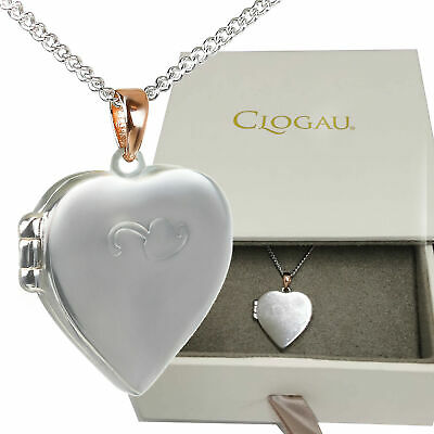 Clogau Locket Heart Insignia Tree Of Life Welsh Rose Gold Silver Pendant • 99.99£