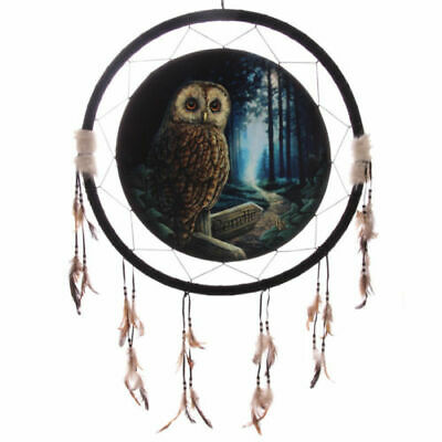 Lisa Parker Pendle Dream Catcher 32 Cms/Owl/Pagan/Wiccan/Witch New Other • 9.99£
