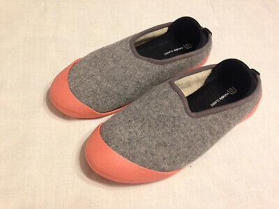 $29.49 • Buy Mahabis  Classic Grey Slip-on  Slippers  Removable  Sole  Size  Eu 41 /us 9.5-10