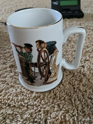 $ CDN10.53 • Buy Norman Rockwell River Pilot Coffee Mug