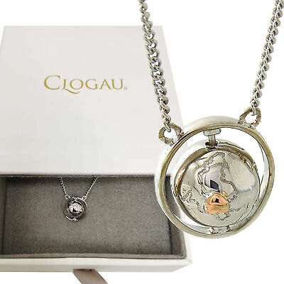 Clogau Silver And Rose Welsh Gold World Globe Journey Pendant Rrp £129 Gift Wrap • 99.90£