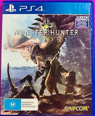 AU36 • Buy Monster Hunter World - PS4 Like New  Used 4 Times Thrill