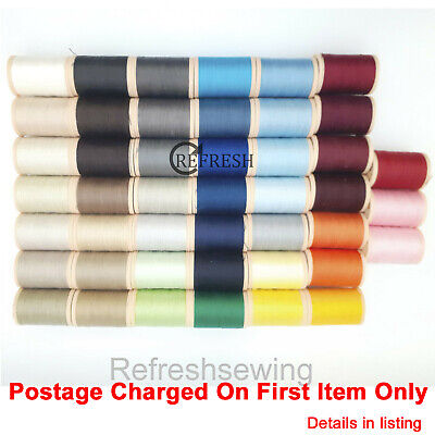 £4.99 • Buy Coats 100% Cotton Sewing Quilting 40 Weight Thread 350mtr Numbers 1210 To 9513