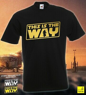 This Is The Way T-Shirt Mandalorian Star Wars Baby Yoda Disney Christmas Gift  • 8.99£