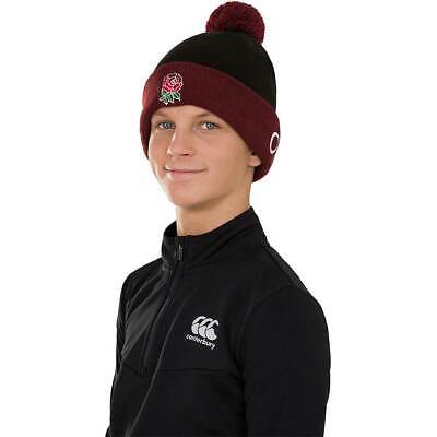 Canterbury Mens England Rugby Acrylic Bobble Hat • 8.12£