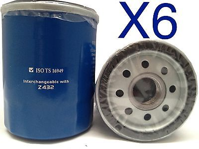 AU18 • Buy 6x Oil Filter Fits Z432 TOYOTA TOWNACE YR39 2L 4CYL CARBY 1992-97