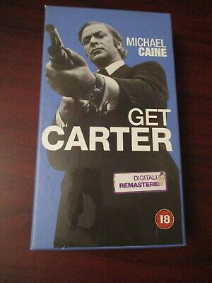 Michael Caine Get Carter    VHS Video Tape  (NEW) • 6.99£