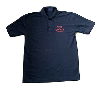 PTI Blue Polo (Size M) - Physical Training Instructor • 5£