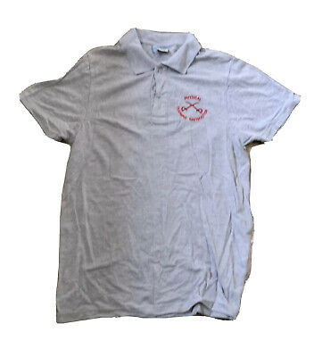 PTI Grey Polo (Size M) - Physical Training Instructor • 5£