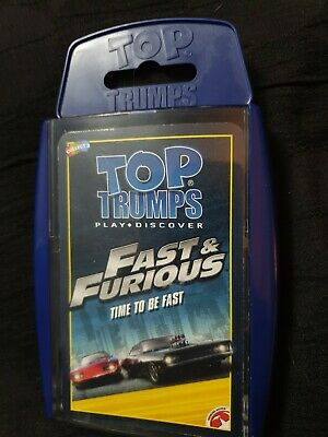 Fast And Furious Top Trumps Card Game Cheap  • 3.50£