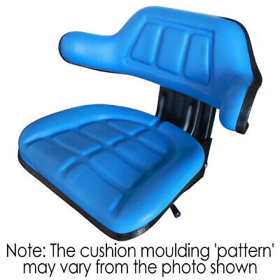 AU132 • Buy W222BU Tractor Seat With Base Blue Universal Fit 120kg Max