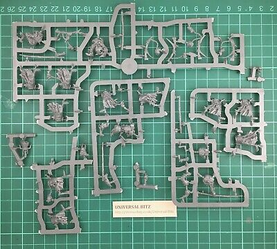 Warhammer AOS Hexwraiths X 5  No Horses Or Bases On Sprue V5 • 9.99£