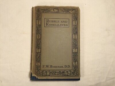 $ CDN51.82 • Buy Rubble & Roseleaves And Things Of That Kind Boreham, F W, 1930, The Epworth Pres