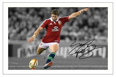 £1.89 • Buy Leigh Halfpenny Signed Photo Print Autograph British Lions Rugby