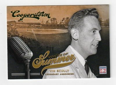 $6.95 • Buy VIN SCULLY 2012 Panini Cooperstown Voices Of Summer Card #9 HOF Hall Of Fame
