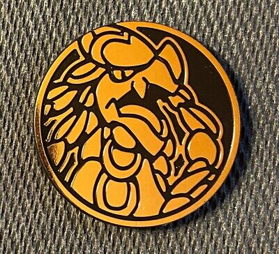 $1.95 • Buy Kommo-o Gold Color Collector Coin OFFICIAL Pokemon 2020 NEAR MINT
