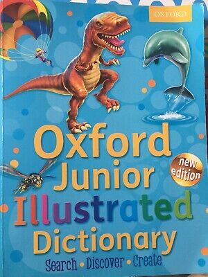 Oxford Junior Illustrated Dictionary 2012 By Oxford Dictionaries Paperback Book • 6.29£