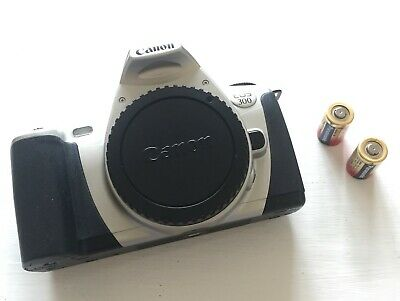 £10.99 • Buy Canon EOS 300 35mm SLR Film Camera Body With Cap And Batteries