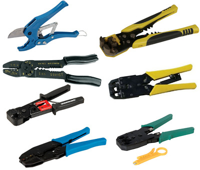 £10.97 • Buy Crimping Tool Wire Stripper Heavy Duty Expert Ratchet Telecoms Hand Tools Pipe