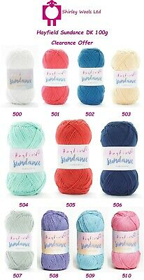 Hayfield Sundance DK 100g - Discontinued Clearance Price £2.25 • 2.25£
