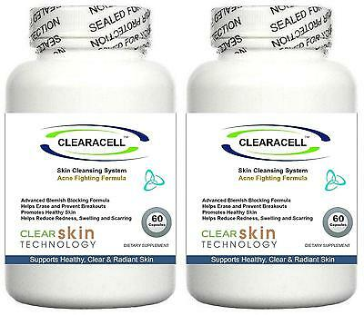£29.95 • Buy 2x Acne Pills Treats Spots Scars Cleanser Detox Tablets Oxy Skin Oily Cleansing