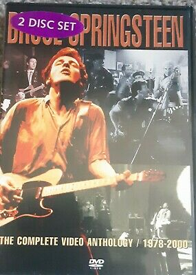 Bruce Springsteen: The Complete Video Anthology - 1978-2000 DVD (2003) Bruce • 4.99£